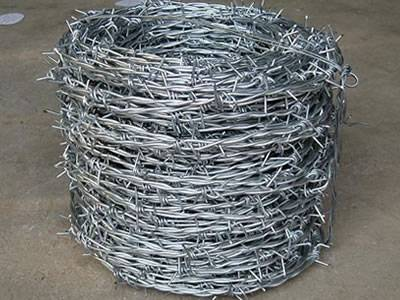 galvanized barbed wire in coils