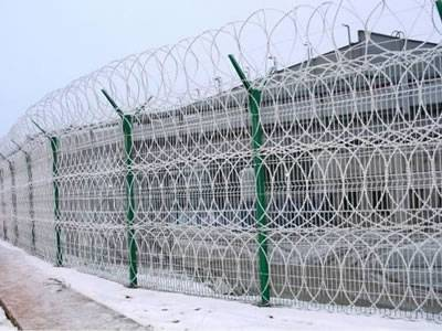 Razor Wire Fence Application Samples and Razor Fence Types