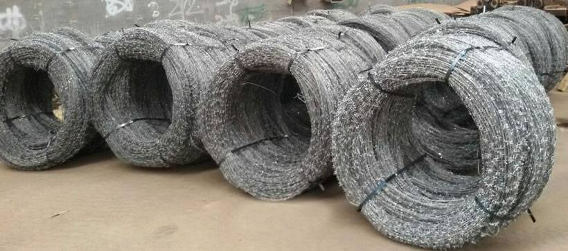 Concertina Wire | Concertina Barbed Wire For Security Protection Fencing