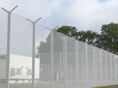 High Security Prison Fence For Prison Hospital Railway