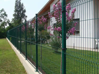 Welded 3d Security Fence For Factory Garden Farm Fencing