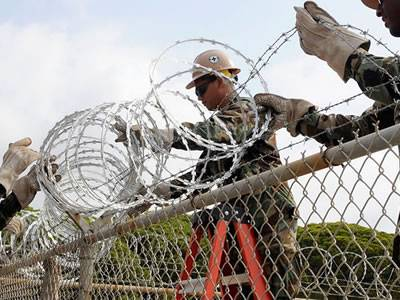 Razor Wire Mobile Security Barrier